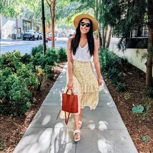 H&M Skirts - Floral skirt